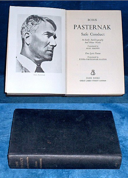 BORIS PASTERNAK - SAFE CONDUCT an Early Autobiography 1959