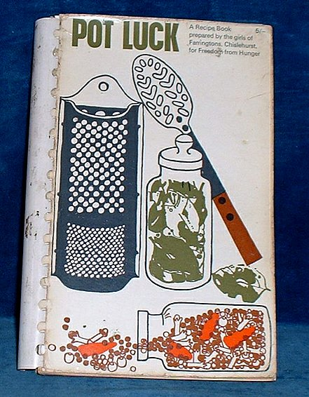 POT LUCK Recipes from Many Countries 1964