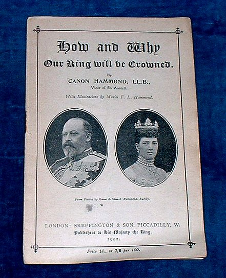 Hammond - HOW AND WHY OUR KING WILL BE CROWNED 1902