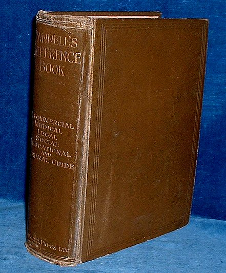 PANNELL'S REFERENCE BOOK for Home and Office 1906
