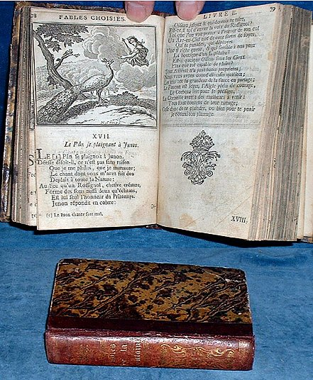 La Fontaine - FABLES CHOISIES copperplates 1727-1728