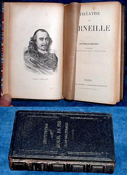 CORNEILLE, PIERRE (1606-1684) - THEATRE DE CORNEILLE Nouvelle Edition Collationnée sur la dernière édition publiée du vivant de l'auteur.