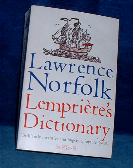 Norfolk, Lawrence - LEMPRIERE'S DICTIONARY 1996