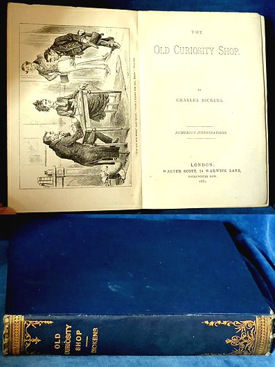 Dickens - THE OLD CURIOSITY SHOP illustrated 1889