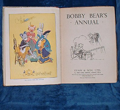 ANON - BOBBY BEAR'S ANNUAL