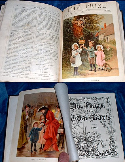 ANON - THE PRIZE for Girls & Boys 1904 (Annual)