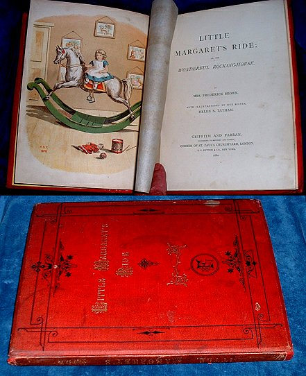 BROWN, MRS. FREDERICK ILLUSTRATED BY HELEN S. TATHAM - LITTLE MARGARET'S RIDE; or, the Wonderful Rocking-Horse.