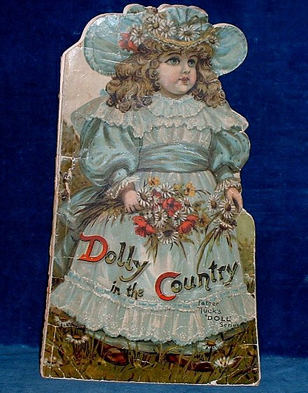 TUCK'S DIE CUT SHAPE BOOKS - DOLLY IN THE COUNTRY