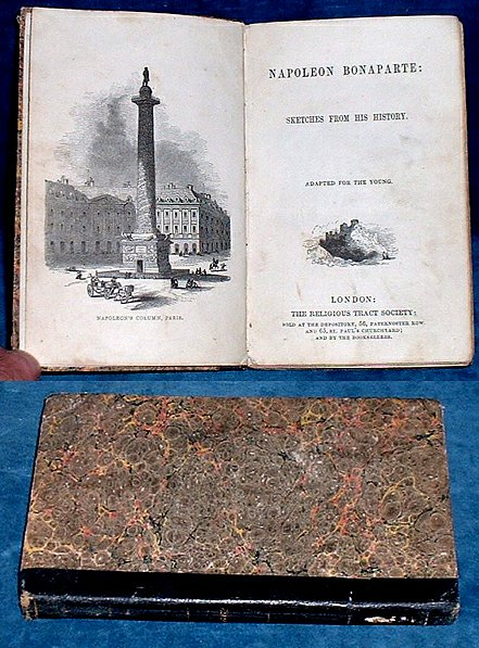 ANON - NAPOLEON BONAPARTE: Sketches from his History. Adapted for the Young.