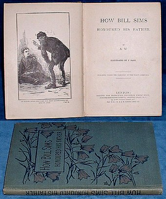 W.,A. - HOW BILL SIMS HONOURED HIS FATHER illustrated by J.Nash