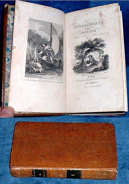 BLANCHARD, P. - DELASSEMENS DE L'ENFANCE ou Lectures Instructives et Amusantes TOME PREMIER (Volume I)