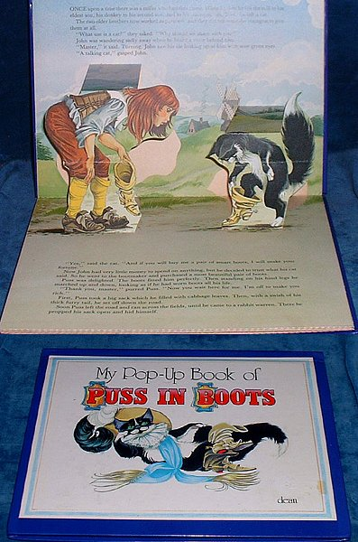 Grahame Johnstone,Jane - MY POP-UP BOOK OF PUSS IN BOOTS 1983