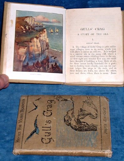 VESEY,Mrs. Francis - GULLS' CRAG .. In words of one, two, and three syllables 1890s