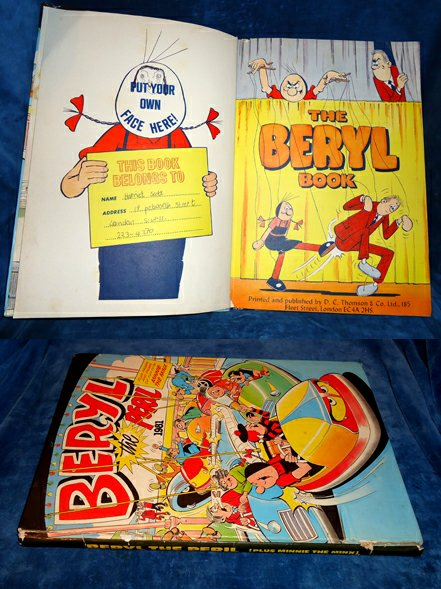 THOMSON & CO. (PUBLISHERS) - BERYL Book - BERYL THE PERIL 1981 (on the cover) plus pages and pages of funf with Minnie the Minx