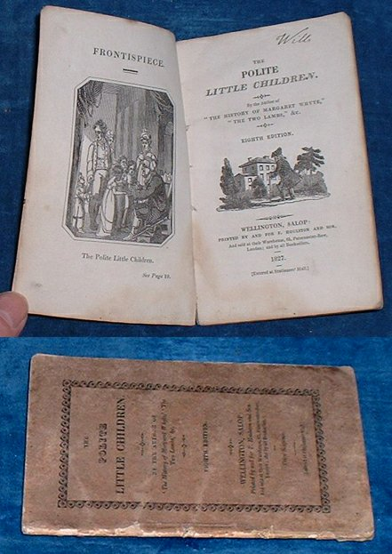 CAMERON, LUCY LYTTLETON (1781-1858)] BUT HERE NOT NAMED - THE POLITE LITTLE CHILDREN By the author of