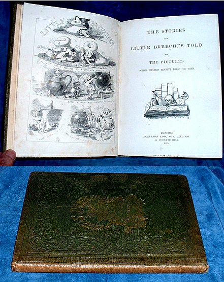 BENNETT, CHARLES H. (1829-1867) - THE STORIES THAT LITTLE BREECHES TOLD, and The Pictures which Charles Bennett drew for them.