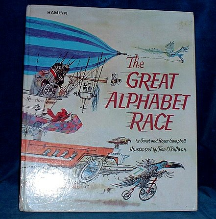 CAMPBELL, JANET & ROGER - THE GREAT ALPHABET RACE