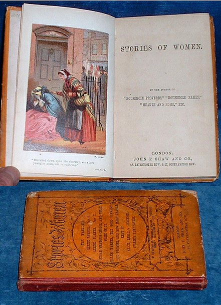 BURROWS, MRS. E.] BUT NOT NAMED HERE - STORIES OF WOMEN by the author of