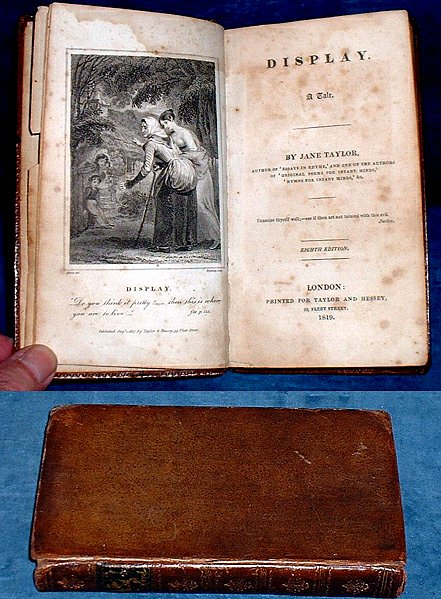 Taylor, Jane - DISPLAY, A Tale 1819