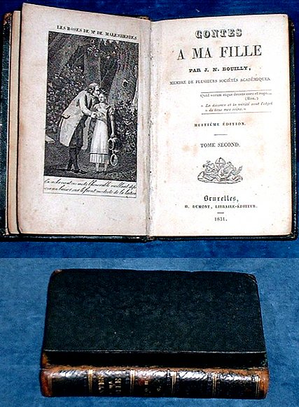 BOUILLY, J.N. (1763-1842) - CONTES A MA FILLE par J.N. Bouilly .. Tome second [of two].