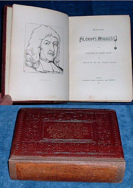 BUNYAN, JOHN (PREFACE BY CHARLES KINGSLEY) - BUNYAN'S PILGRIM'S PROGRESS with Illustrations by Charles Bennett and a Preface by the Rev. Charles Kingsley