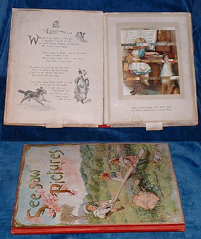 BINGHAM, CLIFTON (NISTER MOVEABLE) - SEE SAW PICTURES a Book of Changing Scenes (with verses by Clifton Bingham).