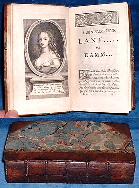 B***,M. [ANTOINE BRET]; [2ND WORK] [RUTLEDGE,JAMES (1743-1794)] - LETTRES DE NINON DE L'ENCLOS au Marquis de Sévigné [Bound with] LA QUINZAINE ANGLOISE A PARIS, ou L'Art de s'y Ruiner en peu de Tems.