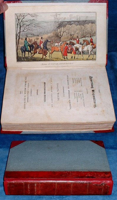 THE SPORTING REPOSITORY Containing Horse-racing, Hunting, Coursing, Shooting .. 1822 (first edition)