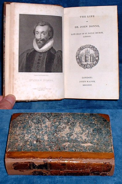Walton - THE LIVES OF DR. JOHN DONNE, SIR HENRY WOTTON [& others] 1825