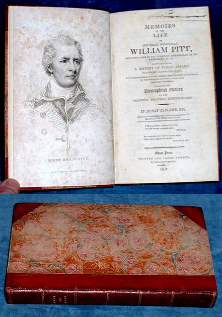 CLELAND, HENRY - MEMOIRS OF THE LIFE OF THE RIGHT HONORABLE WILLIAM PITT
