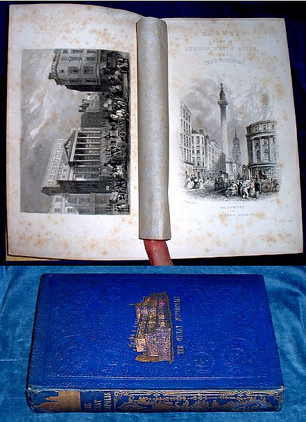 HOLMES'S GREAT METROPOLIS .. Views and History of London