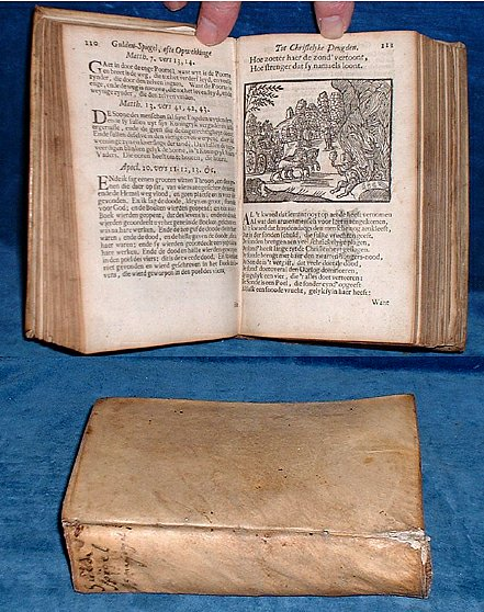 Mayvogel - GULDEN-SPIEGEL Dutch woodcuts 1740