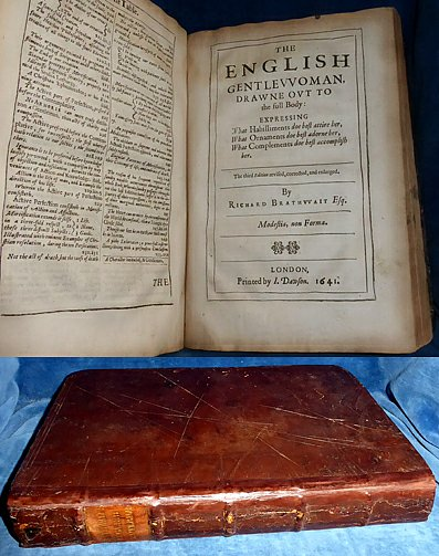 Brathwait - ENGLISH GENTLEMAN and ENGLISH GENTLEWOMAN 1641