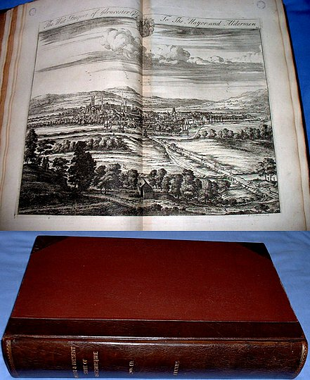 Atkyns - ANCIENT AND PRESENT STATE OF GLOCESTERSHIRE 1768