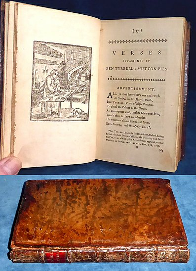 Warton - THE OXFORD SAUSAGE 1st edition 1764 illustrated