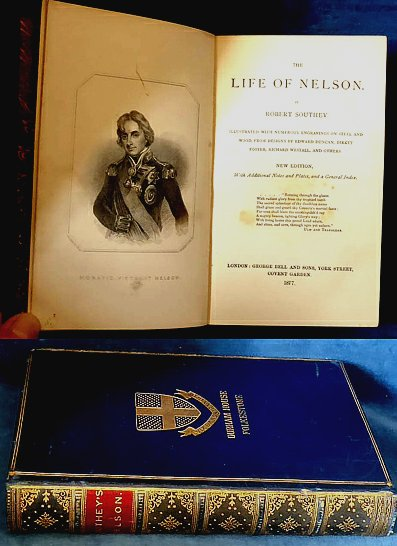 Southey - THE LIFE OF NELSON illustrated 1877