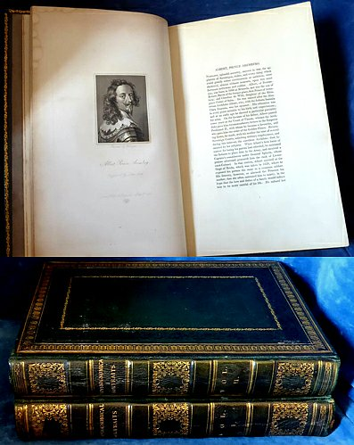PHYSIOGNOMICAL PORTRAITS 100 Distinguished Characters 2 Vols 1824